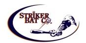 striker bat company logo
