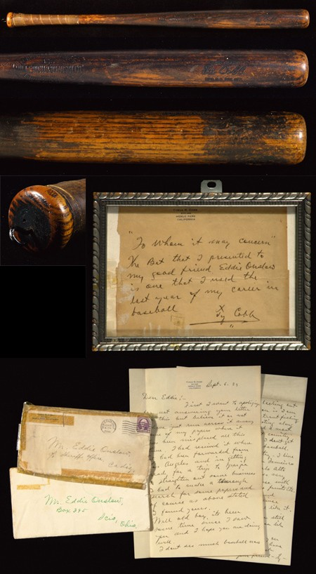 Ty Cobb vintage Louisville Slugger Baseball Bat