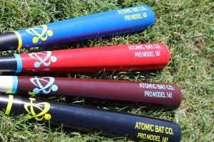 Atomic bats