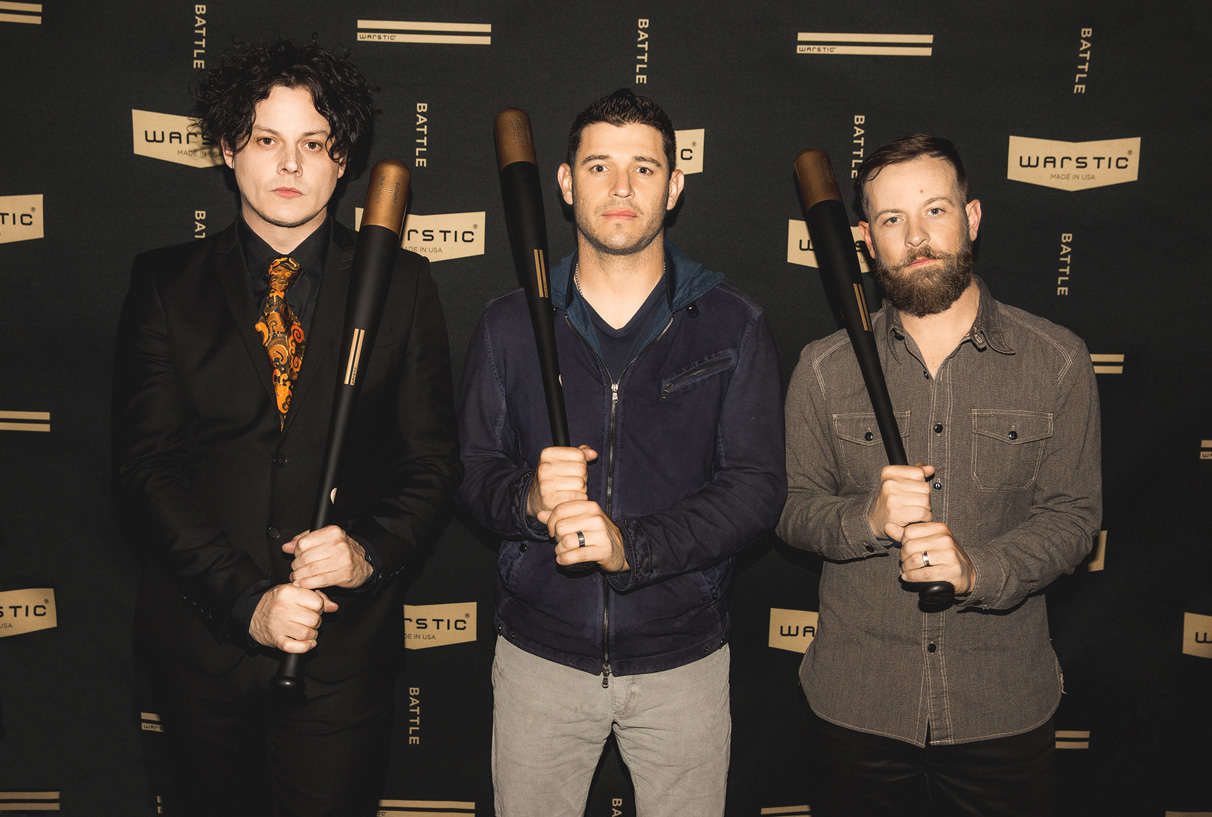 Jack White Ian Kinsler Warstic Bat